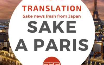 Bringing sake to the world, first stop Paris (2/2)