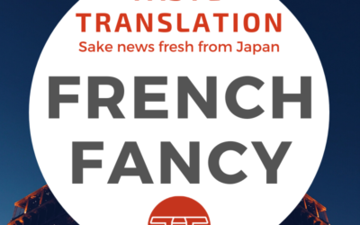 Sake still on the rise in France