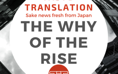 Sake exports continue to rise, but why?