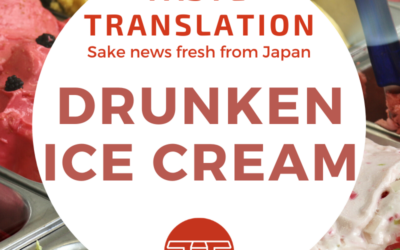 Sake ice cream that packs more of a punch
