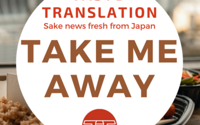 Some sake with your takeout? Now you can in Japan