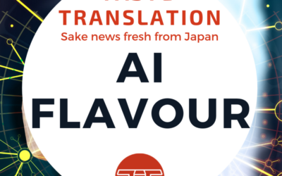 A new AI learning sake aromas and flavours – from consumers