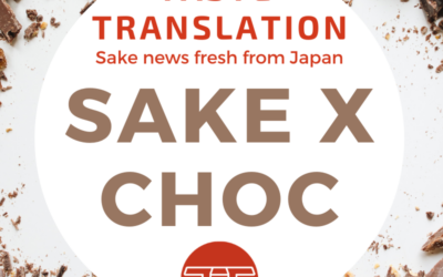 Sake combines with bean-to-bar chocolate