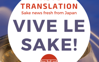New Sake Samurai Xavier Thuizat on promoting sake in France